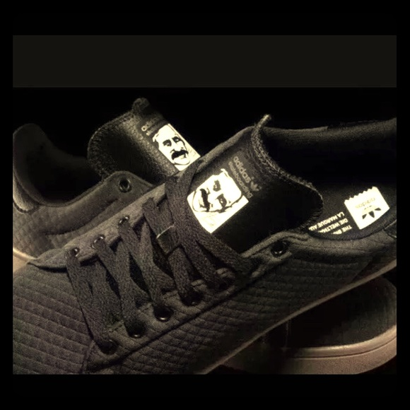 the latest 1770c 4fee1 NEW adidas stan smith Vulc carbon/black size 8 NWT